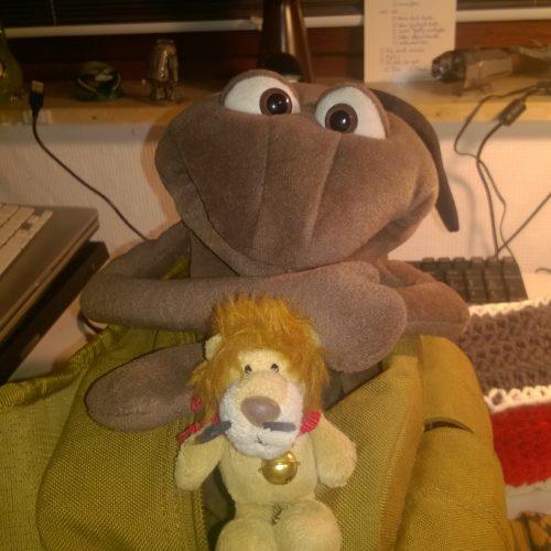 Besuch aus dem Internet: Ludwig Löwe im Ameisenhaufen